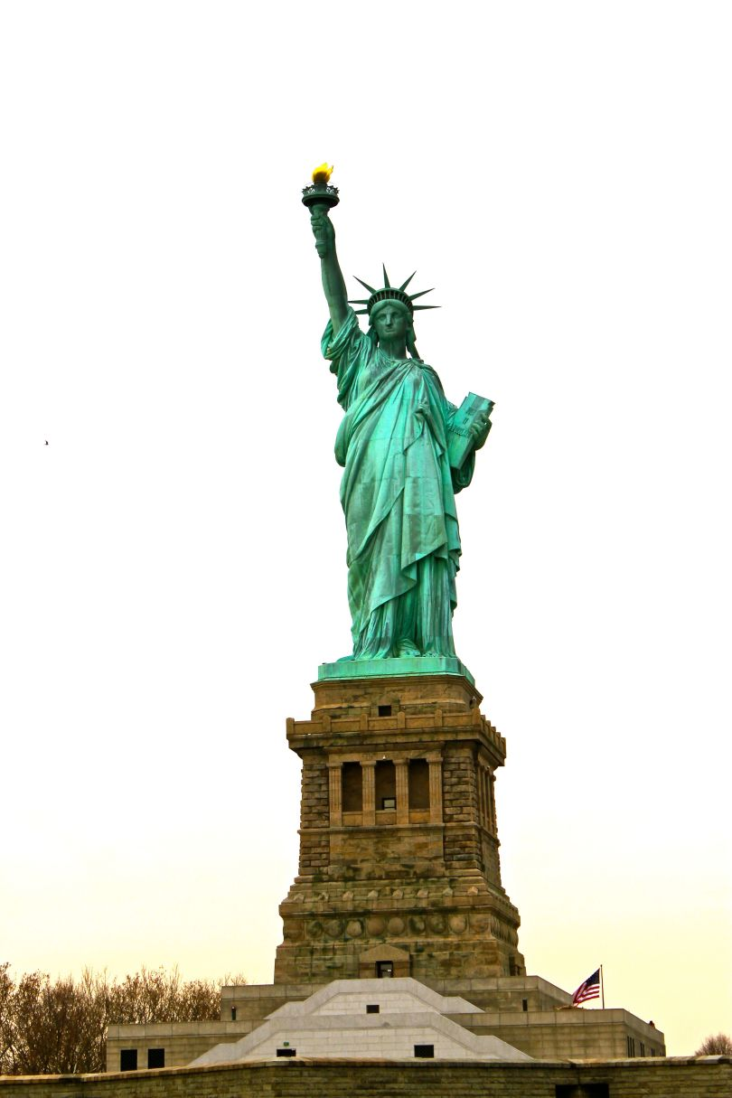 The unforgettable Lady Liberty on Liberty Island
