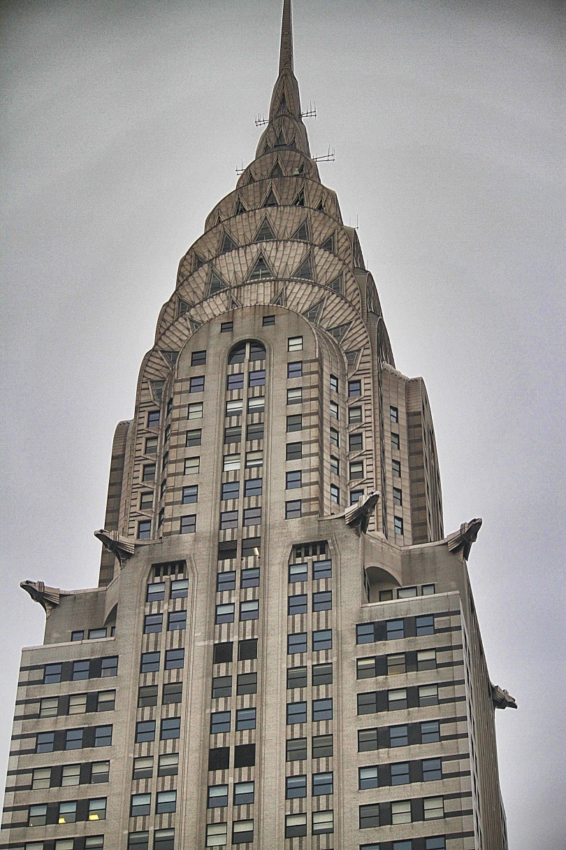 View of the Chrysler Building from the bedroom window