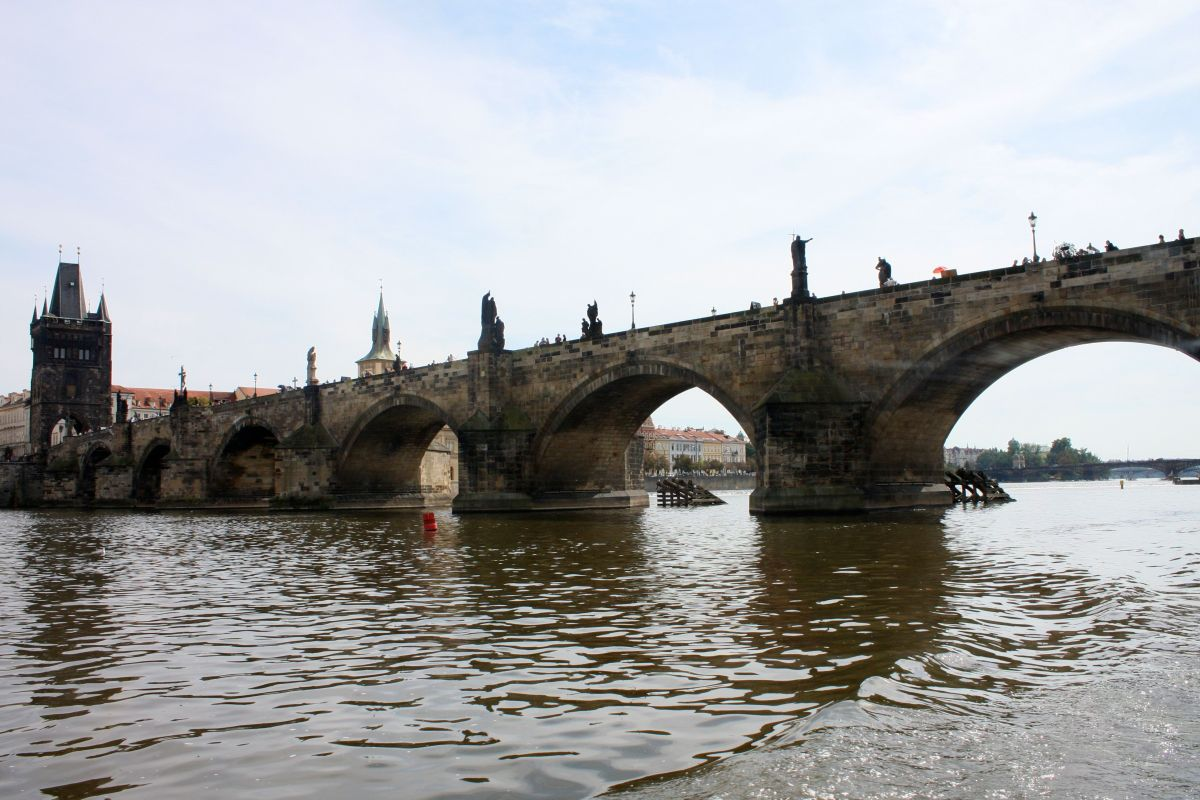 St. Charles Bridge in Prague, Czech Republic