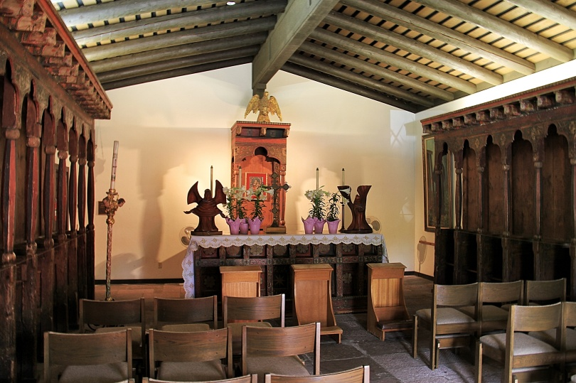 The small chapel at the mission.