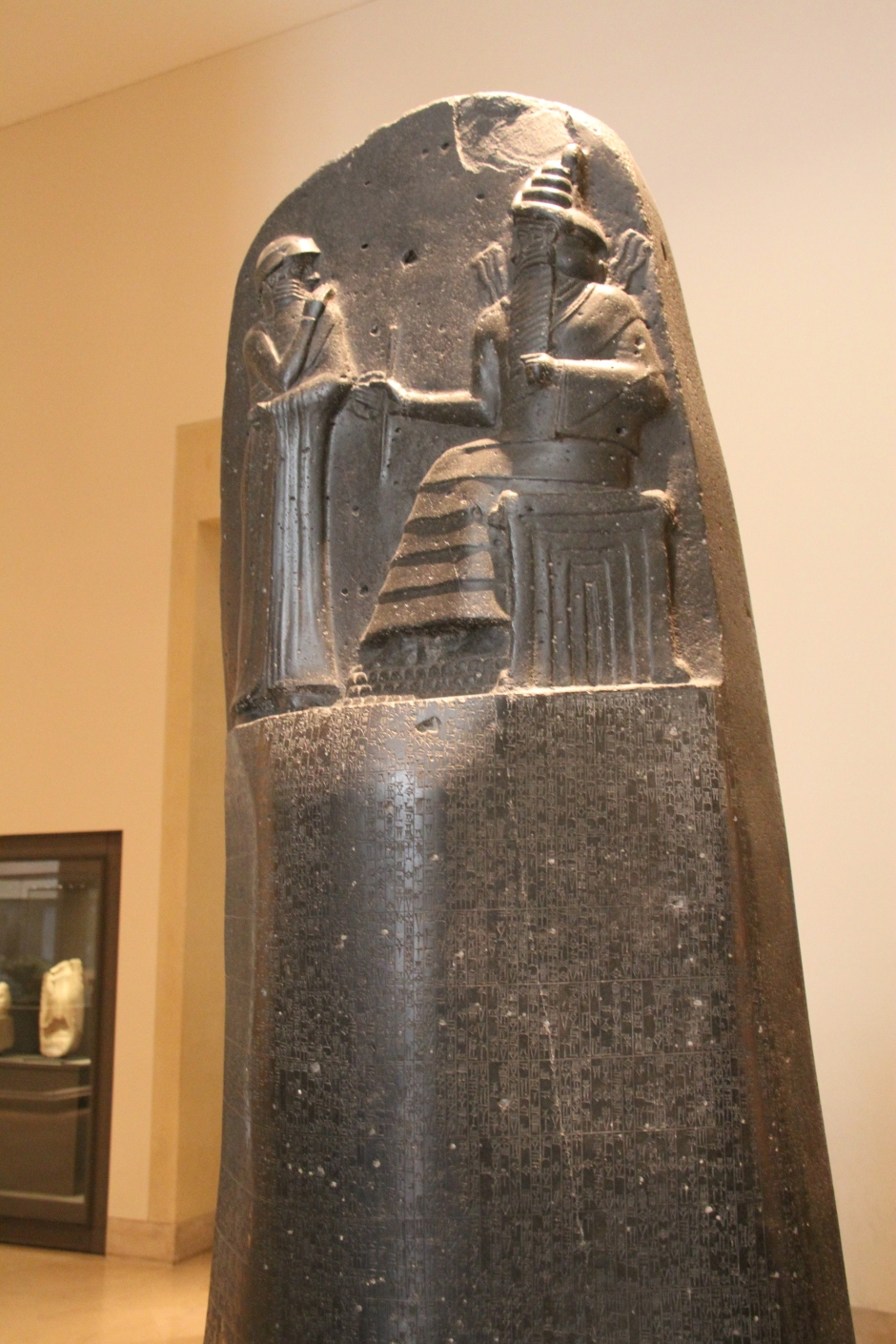The Code of Hammurabi, from 1770 BCE.  Everything from how much to pay ox drivers to how to get a divorce in ancient Babylon.