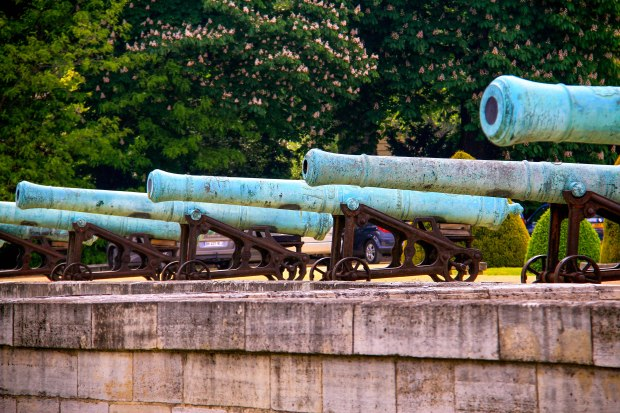 Canons from the French Revolutionary era.