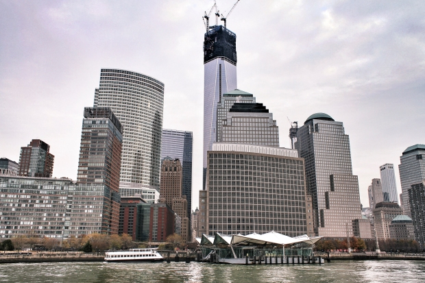 Lower Manhattan from the Hudson River