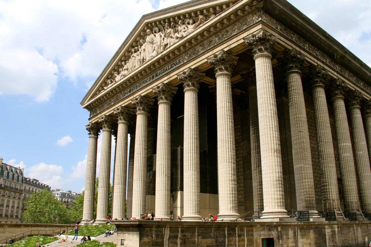 Eglise de la Madeleine in Paris.
