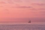 Sunset off La Jolla