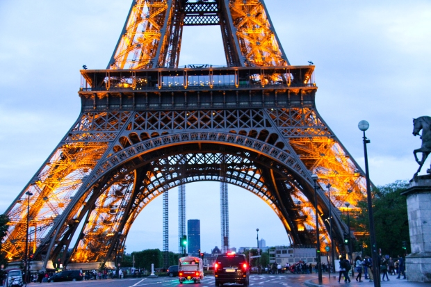 Through the Eiffel Tower