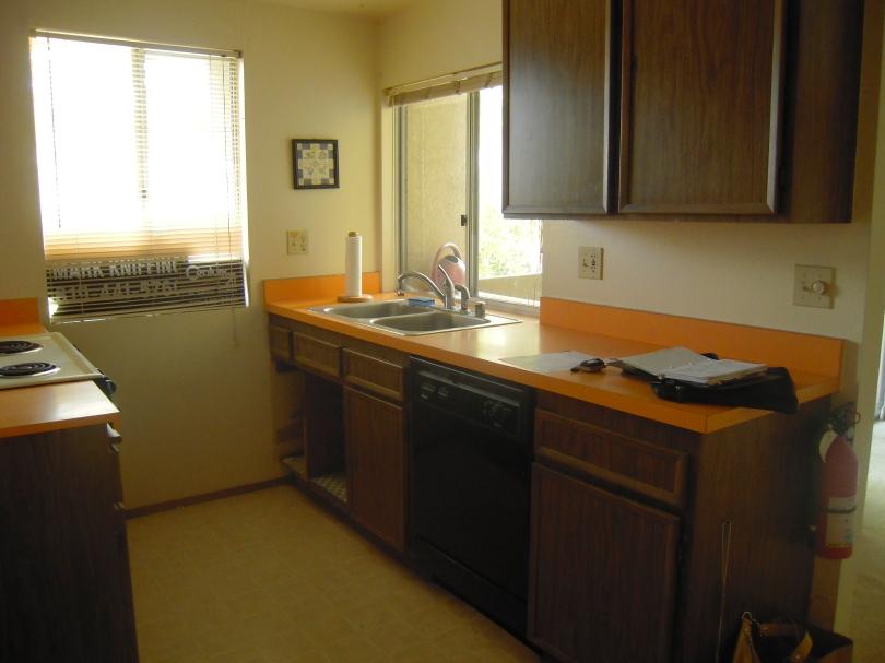 BALTIMORE CONDO BEFORE- Kitchen Up Close No Cabinet