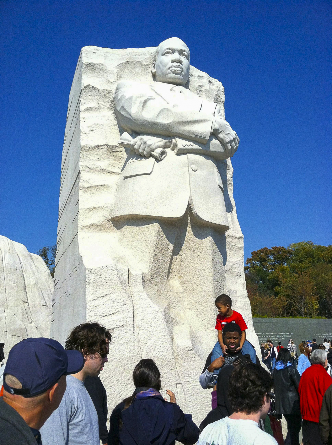 Martin Luther King, Washington DC