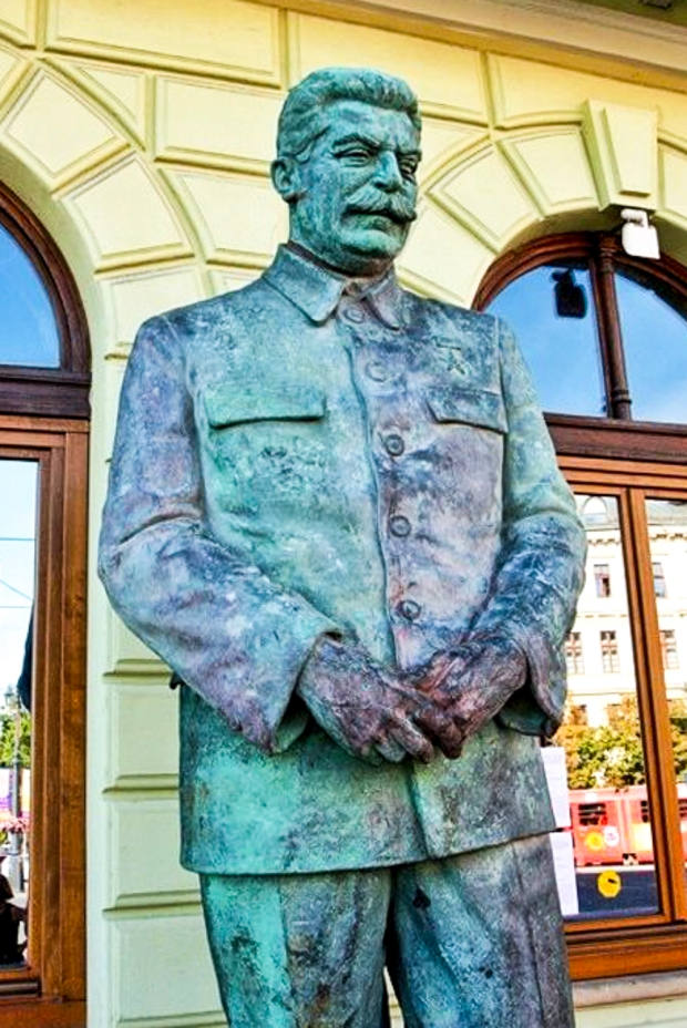 """Uncle"" Joseph Stalin, Bratislava, Slovakia"