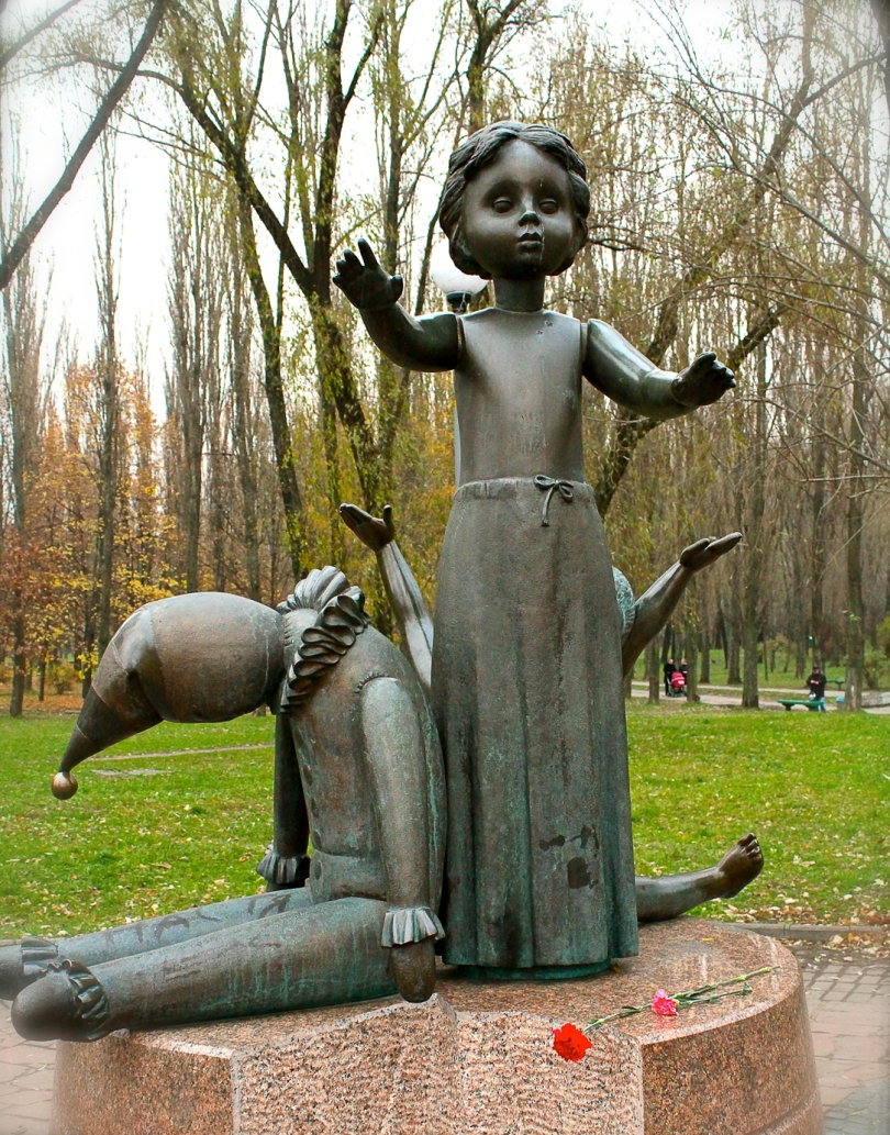 Children's memorial at Babi Yar, Kiev, Ukraine
