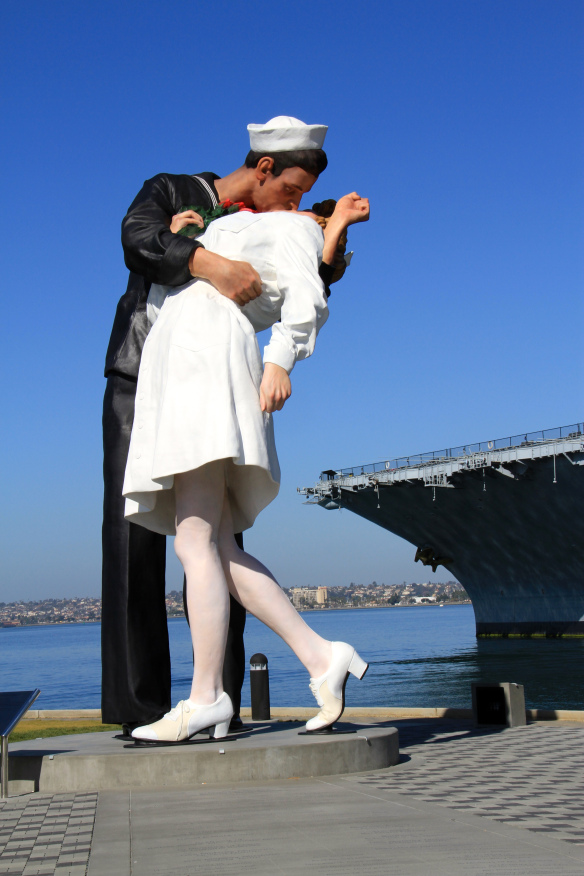 Unconditional Surrender, San Diego