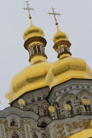 Church Spires in Kiev