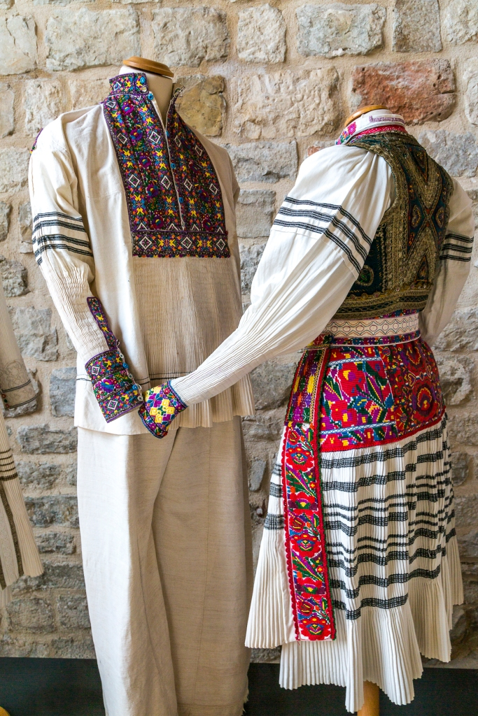 Traditional Croatian clothes.