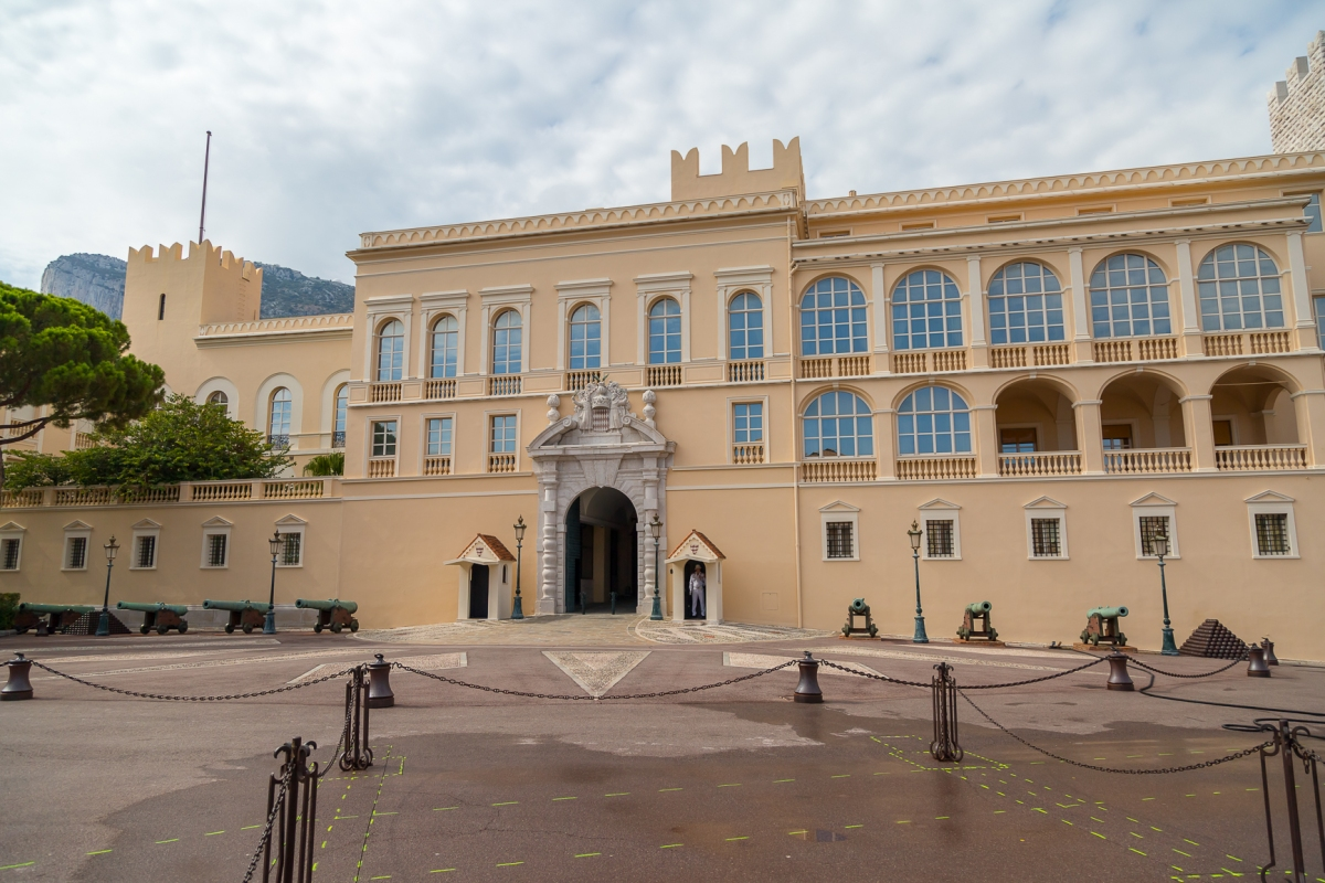 The palace and seat of government in Monaco.