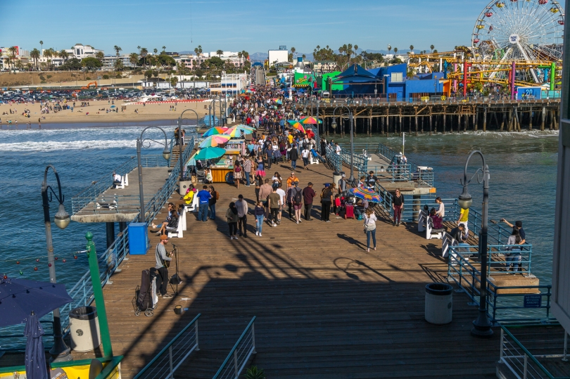 Santa Monica Pier-9